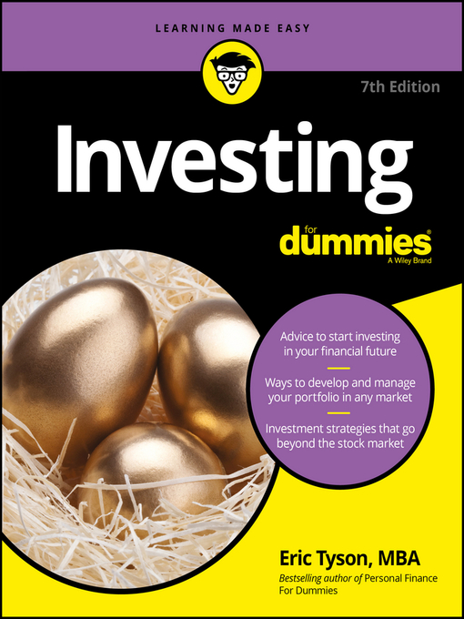 Title details for Investing For Dummies by Eric Tyson - Available