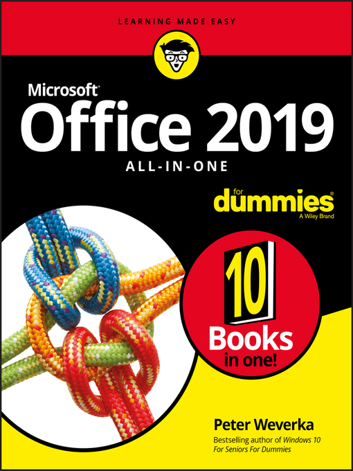Title details for Office 2019 All-in-One For Dummies by Peter Weverka - Available