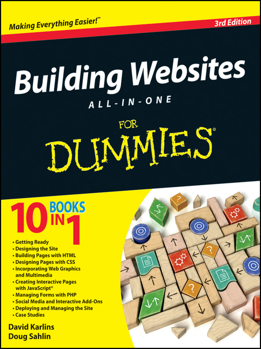 Title details for Building Websites All-in-One For Dummies by David Karlins - Available