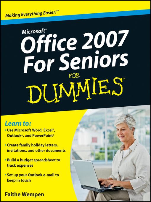 Oem Msoffice 2007 For Seniors For Dummies