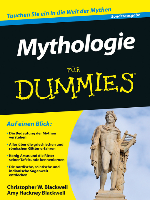 Title details for Mythologie für Dummies by Christopher W. Blackwell - Available