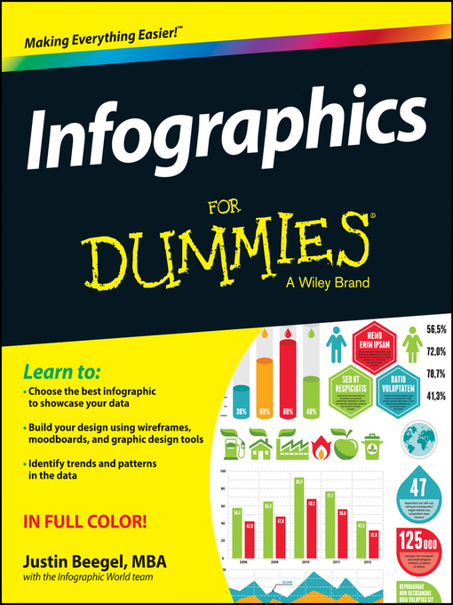 Title details for Infographics For Dummies by Justin Beegel, MBA - Available