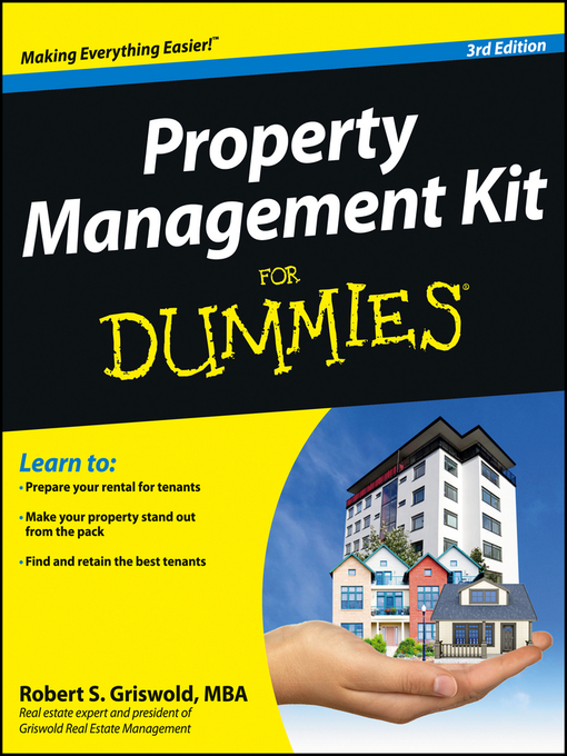 Title details for Property Management Kit For Dummies by Robert S. Griswold - Available