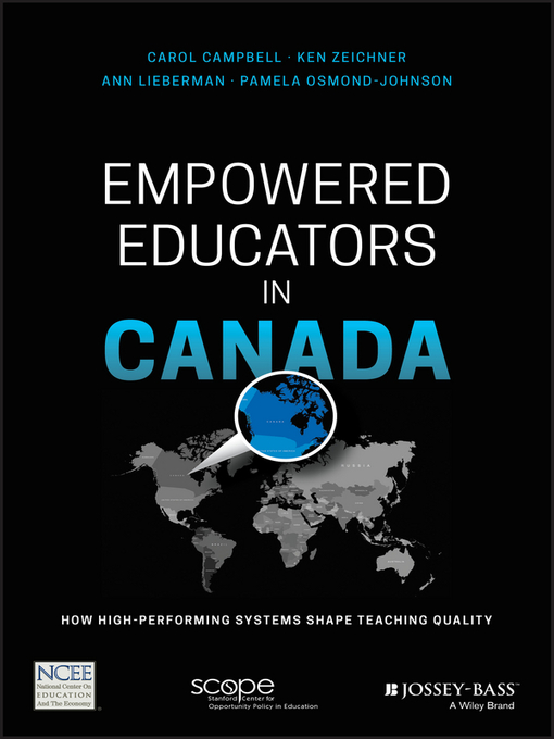 Cover of Empowered Educators in Canada