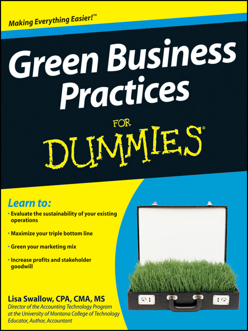 Title details for Green Business Practices For Dummies® by Lisa Swallow - Available