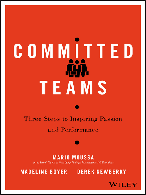 Title details for Committed Teams by Mario Moussa - Available
