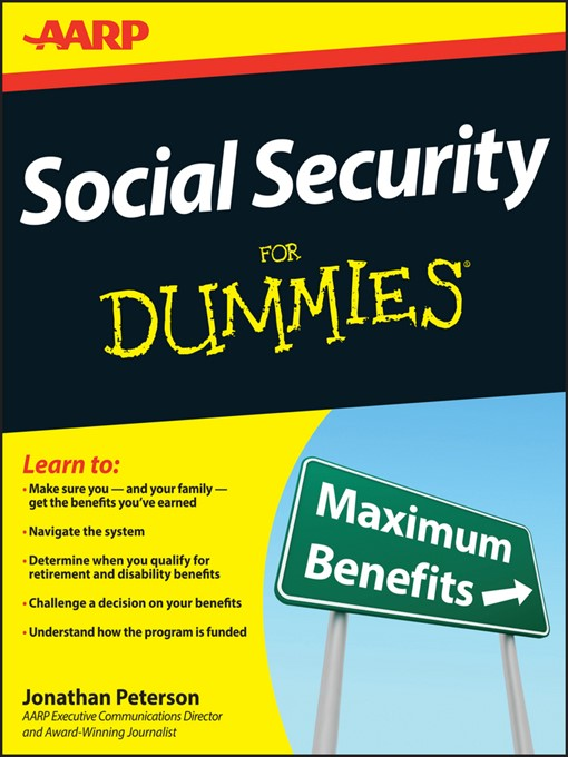 Title details for Social Security For Dummies by Jonathan Peterson - Available