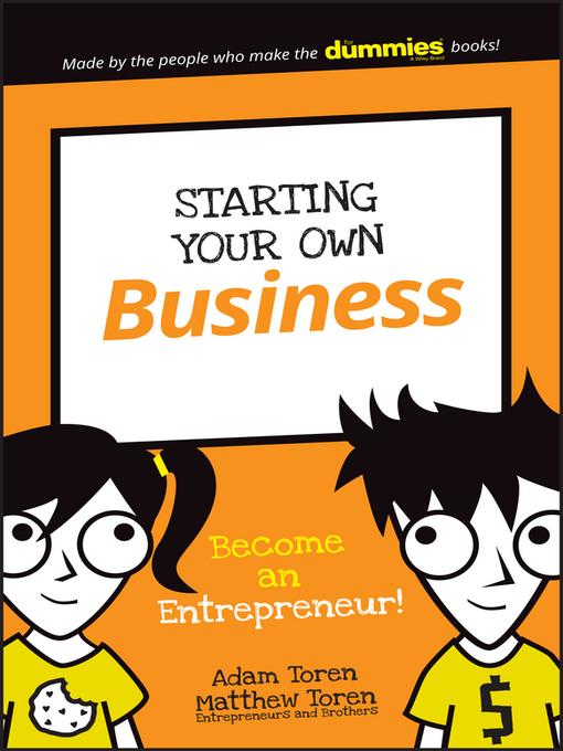 Title details for Starting Your Own Business by Adam Toren - Available
