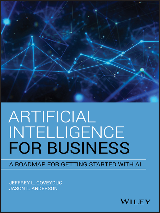 Title details for Artificial Intelligence for Business by Jason L. Anderson - Available