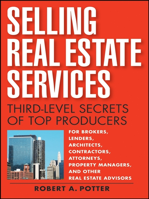 Title details for Selling Real Estate Services by Robert A Potter - Wait list