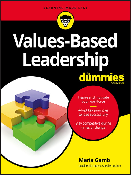 Title details for Values-Based Leadership For Dummies by Maria Gamb - Wait list