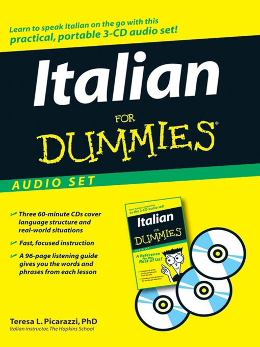 Title details for Italian For Dummies by Teresa L. Picarazzi - Available