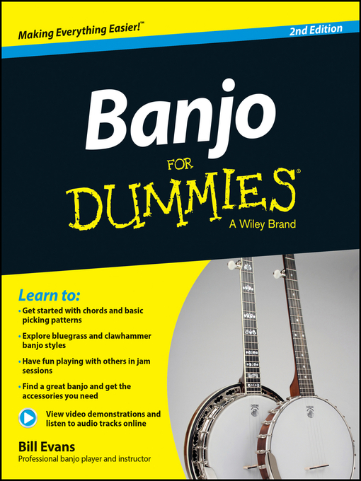 Title details for Banjo For Dummies by Bill Evans - Available