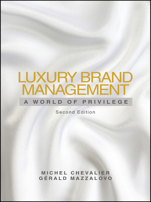 Title details for Luxury Brand Management by Michel Chevalier - Available