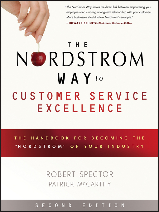 Cover of The Nordstrom Way to Customer Service Excellence