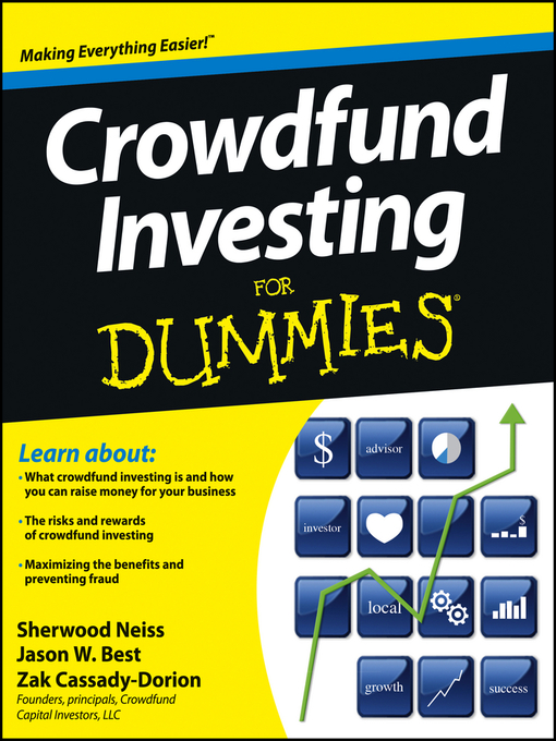 Title details for Crowdfund Investing For Dummies by Sherwood Neiss - Wait list