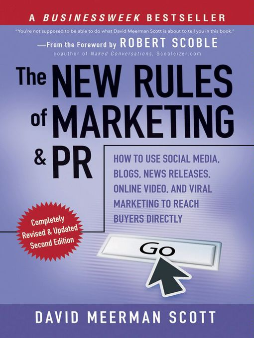 Title details for The New Rules of Marketing and PR by David Meerman Scott - Available