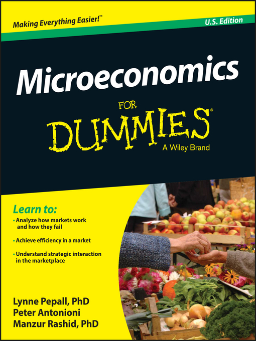 Title details for Microeconomics for Dummies by Lynne Pepall - Available