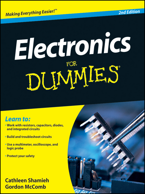 Title details for Electronics For Dummies by Cathleen Shamieh - Available