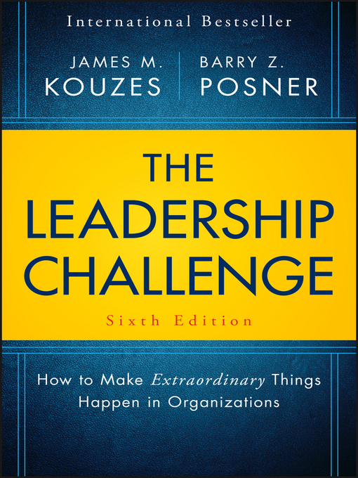 Cover image for The Leadership Challenge