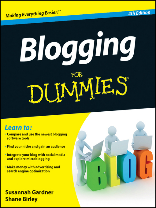 Title details for Blogging For Dummies by Susannah Gardner - Available