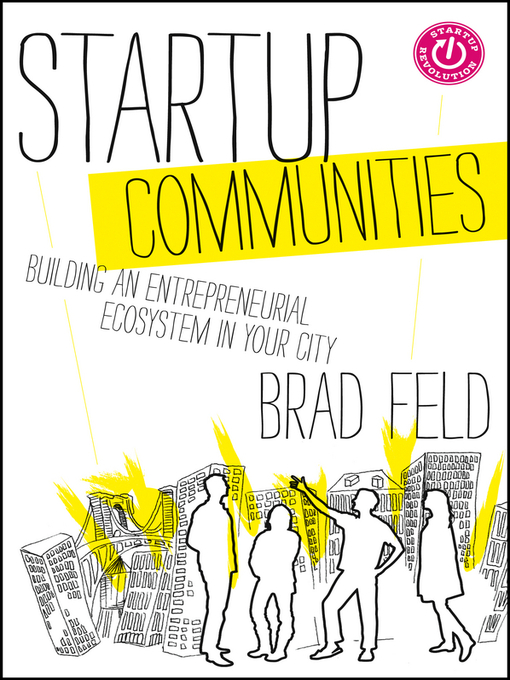 Title details for Startup Communities by Brad Feld - Wait list