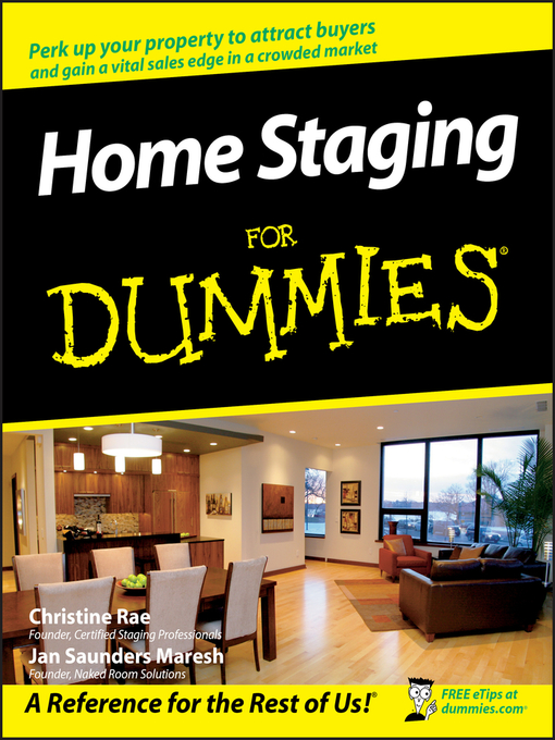 Title details for Home Staging For Dummies by Christine Rae - Available