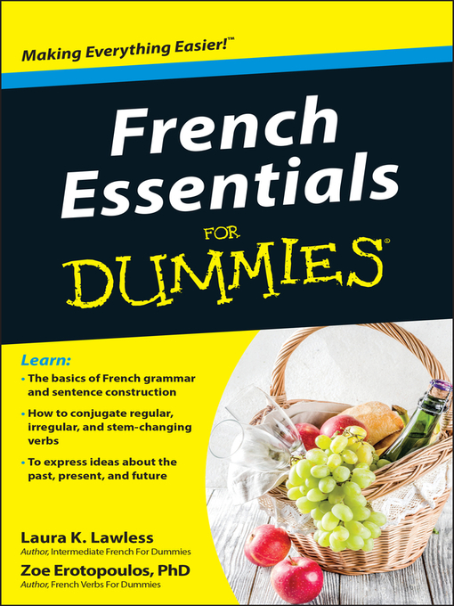Title details for French Essentials For Dummies by Laura K. Lawless - Available