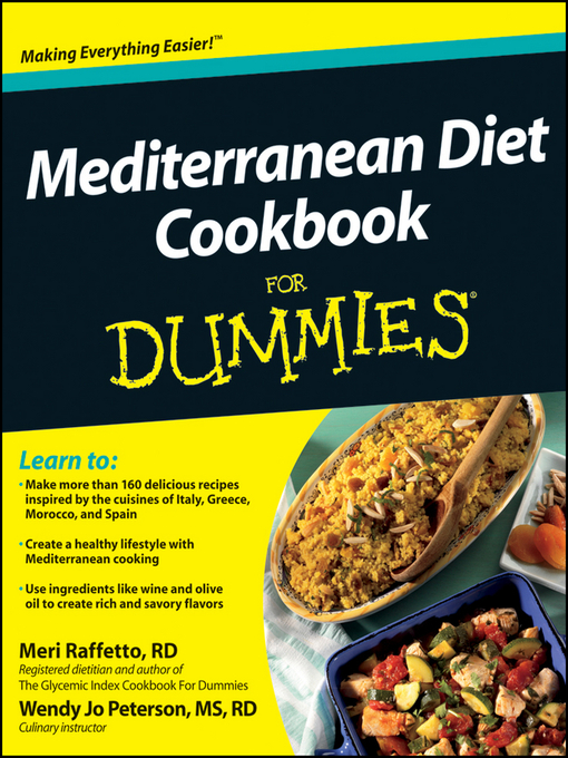 Title details for Mediterranean Diet Cookbook For Dummies by Meri Raffetto - Available
