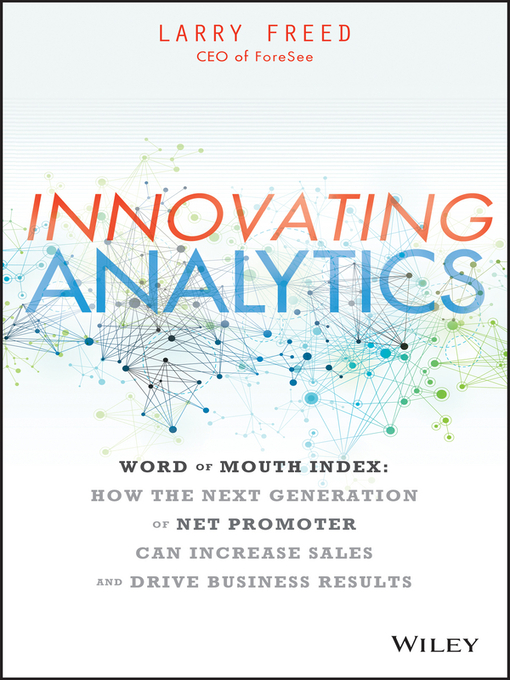 Title details for Innovating Analytics by Larry Freed - Available