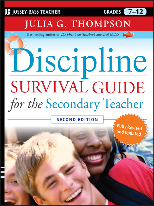 Title details for Discipline Survival Guide for the Secondary Teacher by Julia G. Thompson - Available