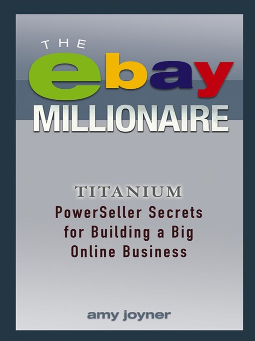 The Ebay Millionaire National Library Board Singapore Overdrive