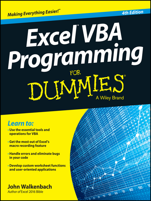 Excel VBA Programming For Dummies - National Library Board Singapore