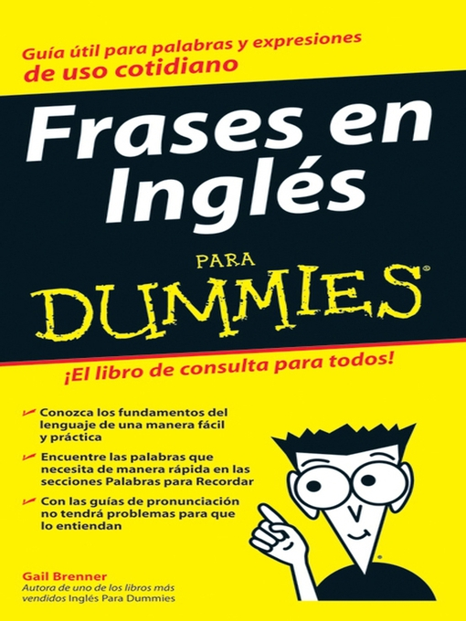 Title details for Frases en Ingles Para Dummies by Gail Brenner - Available