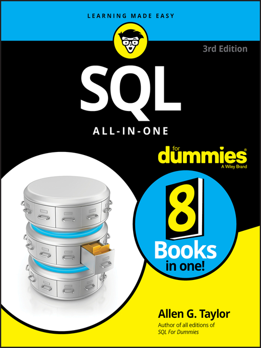 Cover of SQL All-in-One For Dummies