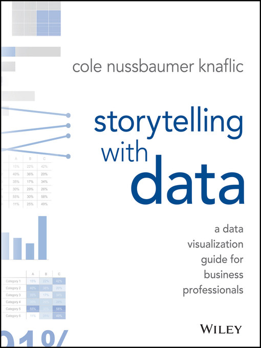 Storytelling with Data The Effective Visual Communication of Information