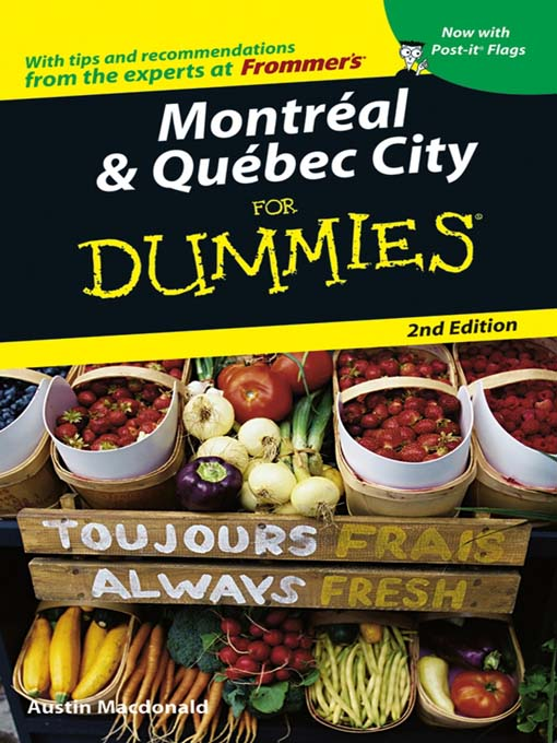 Title details for Montreal & Quebec City For Dummies by Austin Macdonald - Available