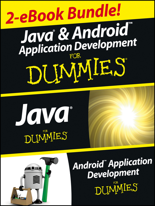 Title details for Java and Android Application Development For Dummies eBook Set by Burd - Available