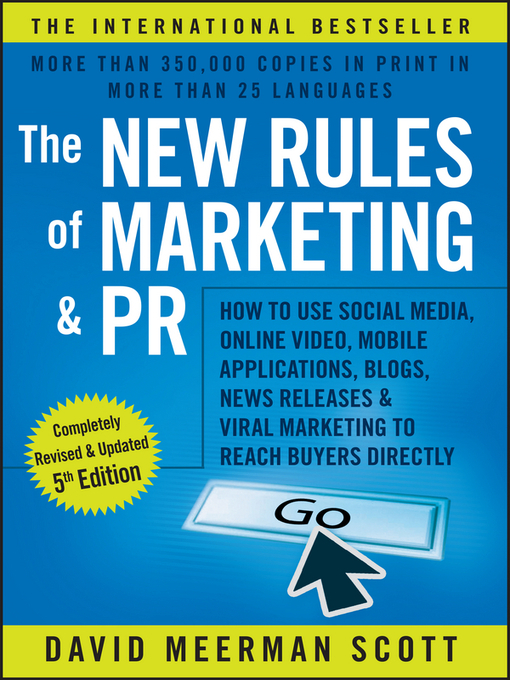 Title details for The New Rules of Marketing & PR by David Meerman Scott - Available