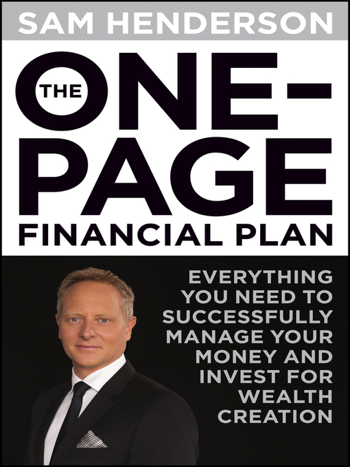 Title details for The One Page Financial Plan by Sam Henderson - Wait list