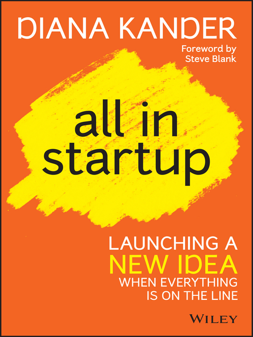 Title details for All In Startup by Diana Kander - Available