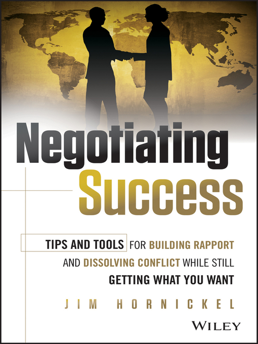Title details for Negotiating Success by Jim Hornickel - Available