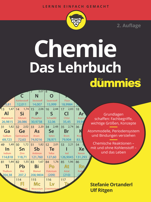 Title details for Chemie für Dummies by Stefanie Ortanderl - Available