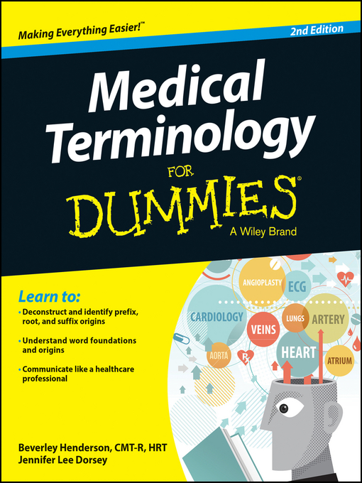 Title details for Medical Terminology For Dummies by Beverley Henderson - Available