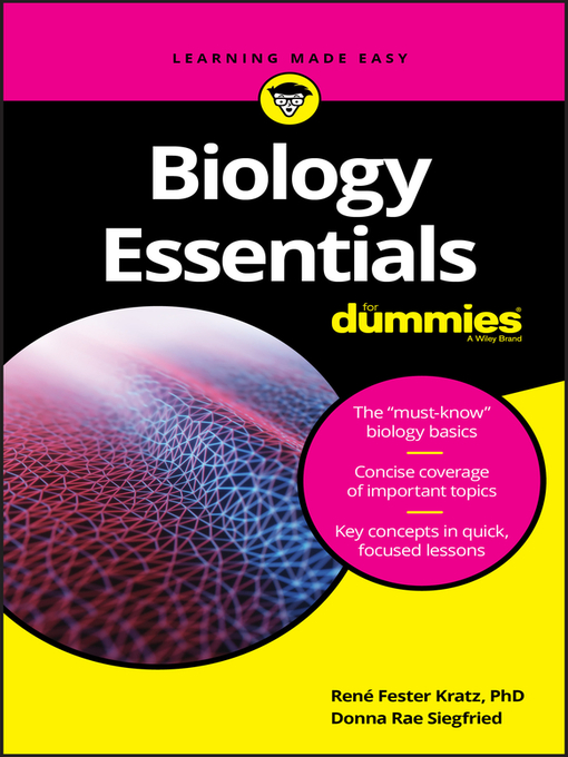 Cover image for book: Biology Essentials For Dummies