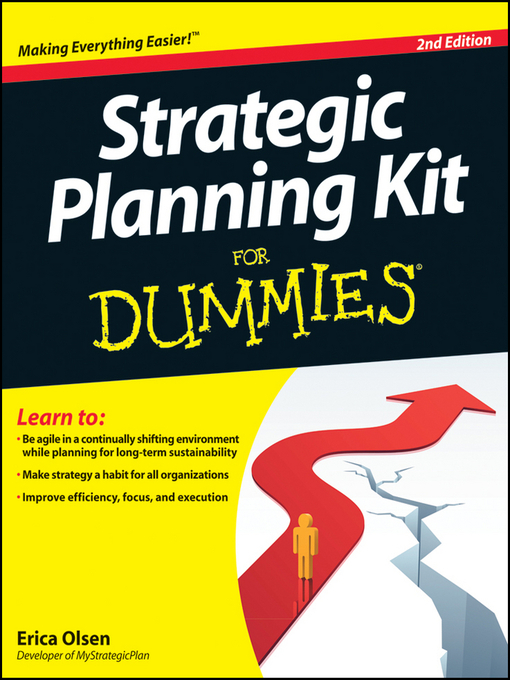 Title details for Strategic Planning Kit For Dummies by Erica Olsen - Available