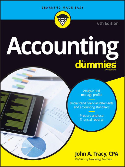 Title details for Accounting for Dummies by John A. Tracy - Available