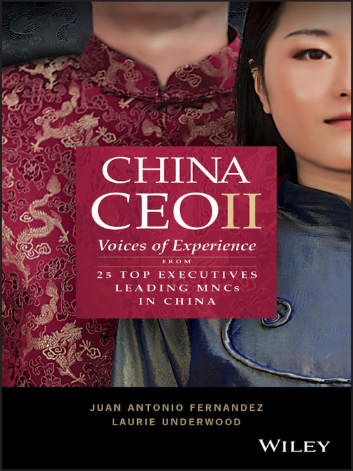 Title details for China CEO II by Juan Antonio Fernandez - Available