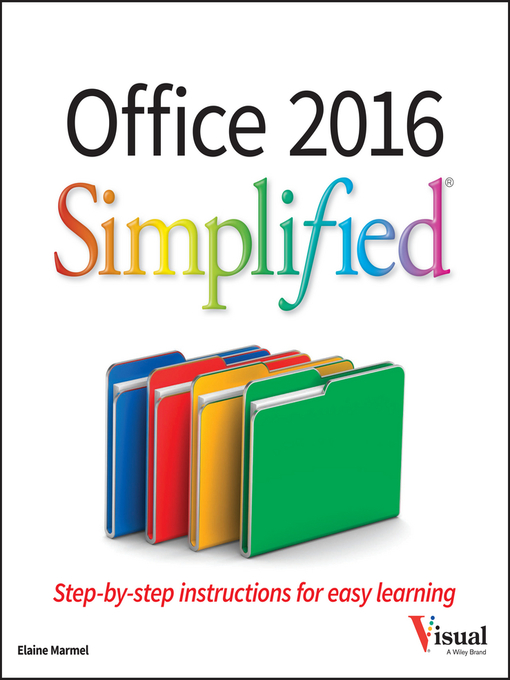 Title details for Office 2016 Simplified by Elaine Marmel - Available
