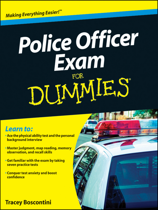 Title details for Police Officer Exam For Dummies by Raymond Foster - Available